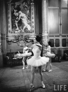 Paris Opera Ballet School, c. 1963
