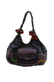 Indigo Hobo bag from Ibiza. Made in Thailand.