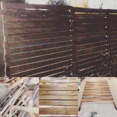 jardini re avec brise vue palissade jardin pinterest. Black Bedroom Furniture Sets. Home Design Ideas