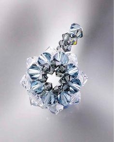 """Star Pendant"" FREE tutorial from handmade-jewelry-club.com"