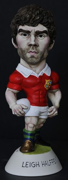 "9"" 'Golden Booted' Leigh Halfpenny Grogg - 2013 Lions"