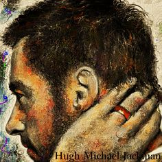 """Hugh Michael Jackman ヒュー・ジャックマンをお絵描きしました、細密画でありながら少し遊び心で制作してみました。  Whitney Houston """"I look To you"""" The best Tribute, by Terrell Carter http://youtu.be/cwcirnFpCS8"""