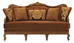 Babette III Traditional Camel Back Sofa by Rachlin Classics