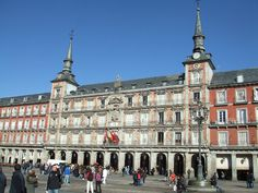 Plaza Mayor- Spain