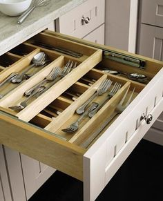 Double Level Drawers - Space Saving Brilliance!