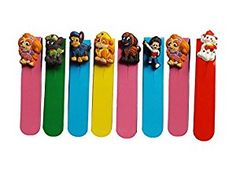 Amazon.com : AVIRGO Magnetic Bookmarks Page Markers Colorful 8 pcs Set # 81-16 : Office Products