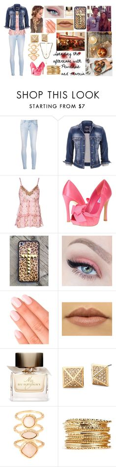 """""""Spending the afternoon with Pewdiepie and Marzia"""" by blavalley ❤ liked on Polyvore featuring beauty, Paper Denim & Cloth, maurices, Jane Norman, rsvp, Elegant Touch, Burberry, Monsoon, Ettika and Caffé"""