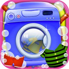"""""""Kids Washing Clothes""""...Superb Game for Kids...Available to Free Download....  Hurry up get this awesome game FREE from: http://goo.gl/unMhic"""