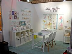 Sea Urchin Studio - NY NOW - building my booth