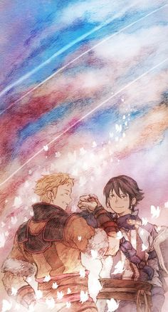 FE: Awakening- Owain and Inigo by : 前掛 (me n mail are cosplaying them heh)