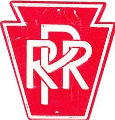 Vintage Pennsylvania Railroad Sign