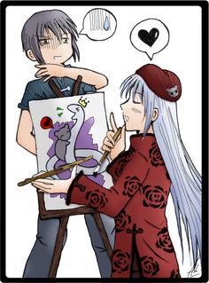 O.o' :Yuki and Ayame: by AshStrange.deviantart.com on @deviantART