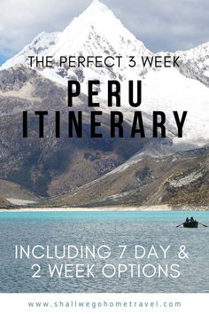 The essential three week backpacking itinerary for Peru including the best route and alternative suggestions for extending your trip! #peru #backpacking #travel #visit #route #itinerary #peruroute #howto #peruitinerary #7days #sevendays #10days #tendays #14days #twoweeks #week #month #threeweeks #threeweekitinerary #itineraries #visitperu #travelperu #backpackperu #southamerica Travel Route, Peru Travel, Travel Usa, Places To Travel, Travel Destinations, South America Destinations, South America Travel, Travel Advise, Travel Tips