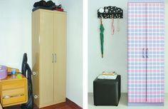 DIY: Armário com tecido