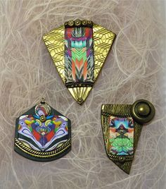 Knightwork: Playing with Clay: Polymer Clay Scrap Jewelry