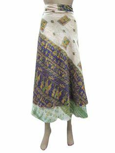 Wrap Around Skirt Vintage Beige Green Silk Sari Reversible Sarong Wrapskirt Mogul Interior,http://www.amazon.com/dp/B00H4UMAD4/ref=cm_sw_r_pi_dp_Vx9Rsb143DY4GJ15