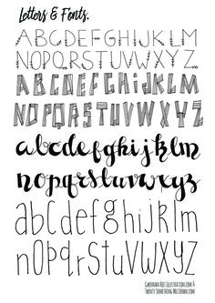 CLICK TO DOWNLOAD LETTERS AND FONTS PAGE 2.