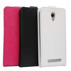 PU Leather Protective Case Cover For DOOGEE Y100 Pro