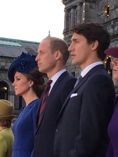 Prince William and Kate with Canadian PM,Justin Trudeau 2016...