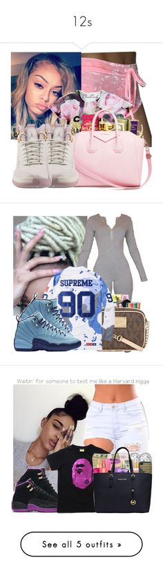 """""""12s"""" by robiinn-babyy-gurl ❤ liked on Polyvore featuring NIKE, House of Harlow 1960, Topshop, UNCONDITIONAL and Nike Golf"""