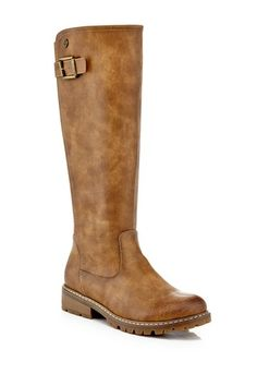 Image of EXTREME By Eddie Marc Falcon Tall Buckle Boot