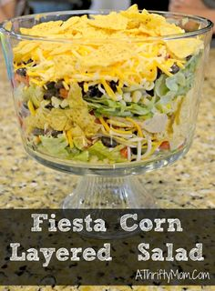 Fiesta Corn layered