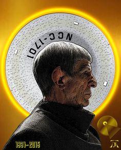 Star Trek: Spock (Tribute to Leonard Nimoy) (Photoshop painting by Adam Jewell) Star Trek 1966, Star Trek Tv, Star Wars, Star Trek Original Series, Star Trek Series, Science Fiction, Alien Nation, Nave Enterprise, Star Trek Images