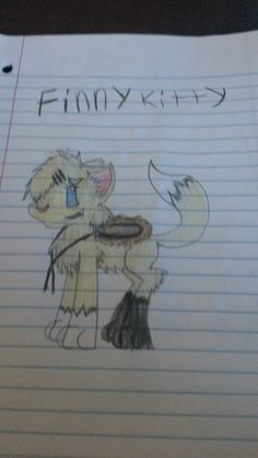Finny kitty by DreiwanPrincess.deviantart.com on @DeviantArt