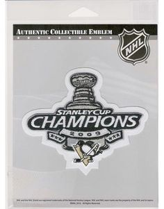2aaa67e5f88 ... sweden this is the 2009 stanley cup champions patch that was worn by  the pittsburgh penguins