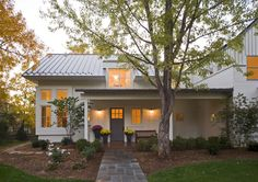 Modern Farmhouse-mix of exterior finishes