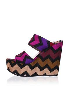 MISSONI Women's Platform Wedge Sandal at MYHABIT