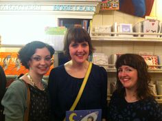 Sheena with her editor and publisher!