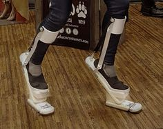 Digitigrade stilts I want to make these. Really cool.