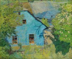 Alois Kalvoda, Blue house