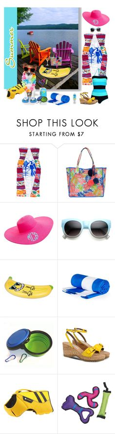 """""""Can't wait til it's Summer time"""" by deborah-518 ❤ liked on Polyvore featuring Stella Jean, Tommy Bahama, ZeroUV, Sunnylife, STELLA McCARTNEY, Ruffwear and Bare Republic"""