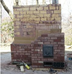 Crete Permaculture: Masonry Heater - 3