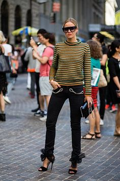 Street Style New York Fashion Week 2 - Image 77