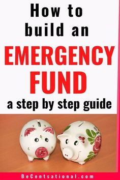 How to Build an Emergency Fund and Save Fast - How to save thousands in an emergency fund. Here are some easy ways that will teach you how much to - Money Tips, Money Saving Tips, Budgeting Finances, Budgeting Tips, Money Saving Challenge, Save Money On Groceries, Savings Plan, Money Management, Easy