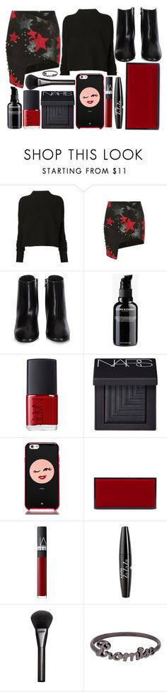 """street style"" by sisaez ❤ liked on Polyvore featuring Victoria Beckham, Anthony Vaccarello, Balenciaga, Grown Alchemist, NARS Cosmetics, Kate Spade, Jimmy Choo, NYX, Gucci and Icepinkim"