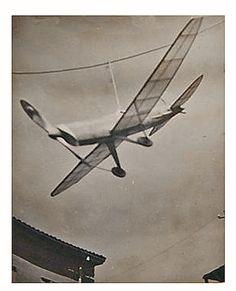 Model Plane From Turkey 1940's