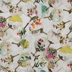 Hertex Fabrics - Paddle Fan Sorbet