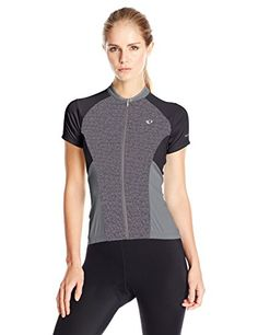 3e5885a6a Pearl iZUMi Women s Elite Escape Short Sleeve Jersey  Innovative cooling  comfort meets refined style in this lightweight jersey crafted for endless  cycling ...