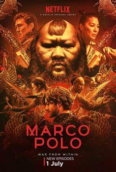 MARCO POLO, Seizoen 2 (Gezien en gevolgd op Netflix)