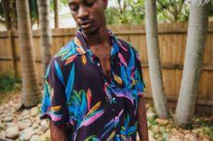 Photos from our shoot coming soon. Got Party, Festival Shirts, Acid Trip, Aloha Shirt, Tropical Pattern, Party Shirts, Festival Fashion, Printed Shirts, Kimono Top