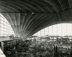 Vues de l'exposition Floralies, Cnit La Défense, 1959