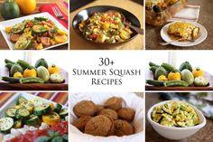 30+ Summer Squash Recipes