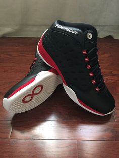 724bee9044b Reebok Iverson Answer VIII 8 Original Release 2004 Size 12 Black Red White  New