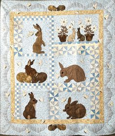 """Some Bunny Loves You"" by Dorothy Baker Designs"