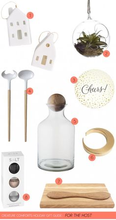 Creature Comforts holiday gift guide: For the Host