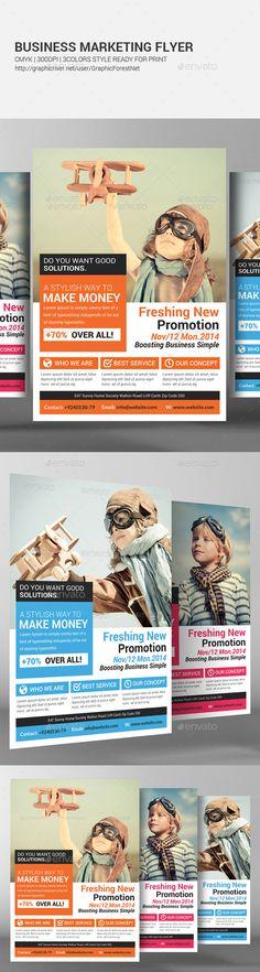 make business flyer - Solidgraphikworks